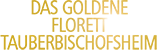Das Goldene Florett von tauberbischofsheim Logo